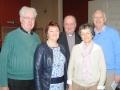 Fr Ciaran Whitney, Patricia Rodgers, Fr Michael Drumm, Ann and John Allen