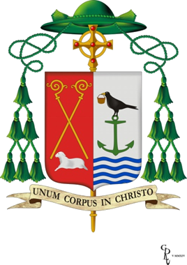 crest of bishop kevin doran