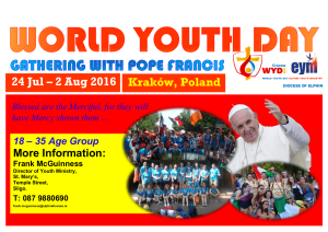 World Youth Day 2016 @ Krakow, Poland