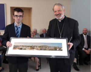 6. Presentation to Bishop Kevin