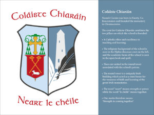 Colaiste Chiaran Crest and Explanation