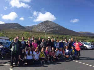 Croagh Patrick May 2016
