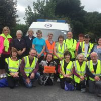 Pilgrim Walkers & Support Volunteers during the Elphin Diocese's 2016 Pilgrim Walk