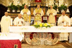 il saluto di don cimeli parroco di s. colombano ala lambro