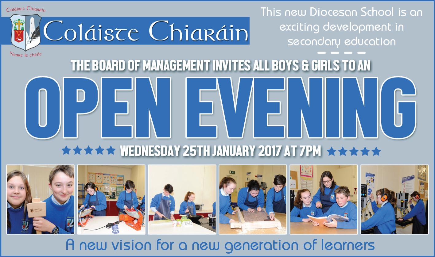 Open-Evening-Colaiste-Chiaráin