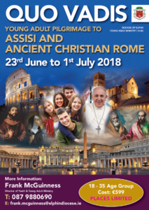 Young Adult Pilgrimage to Assisi & Rome