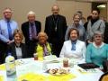 Eithne Deane, [Boyle] Marian  McGowan, Eileen Gaughan, Dermot Leyden, Liz Leyden, Bill Fox, Bishop K. Doran, 00Sister Margaret.