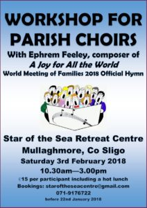 Workshop for Parish Choirs @ Star of the Sea Centre, Mullaghmore, Co Sligo | Mullaghmore | County Sligo | Ireland
