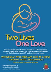 Two Lives, One Love - Information Evening with Bishop Kevin @ Hannon's Hotel, Roscommon Town | County Roscommon | Ireland
