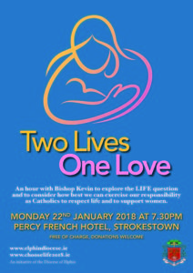 Two Lives, One Love - Information Evenings with Bishop Kevin @ Percy French Hotel, Strokestown | County Roscommon | Ireland