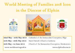 WMOF2018 Icon in Castlerea @ St Patrick's Church, Castlerea | Castlerea | County Roscommon | Ireland