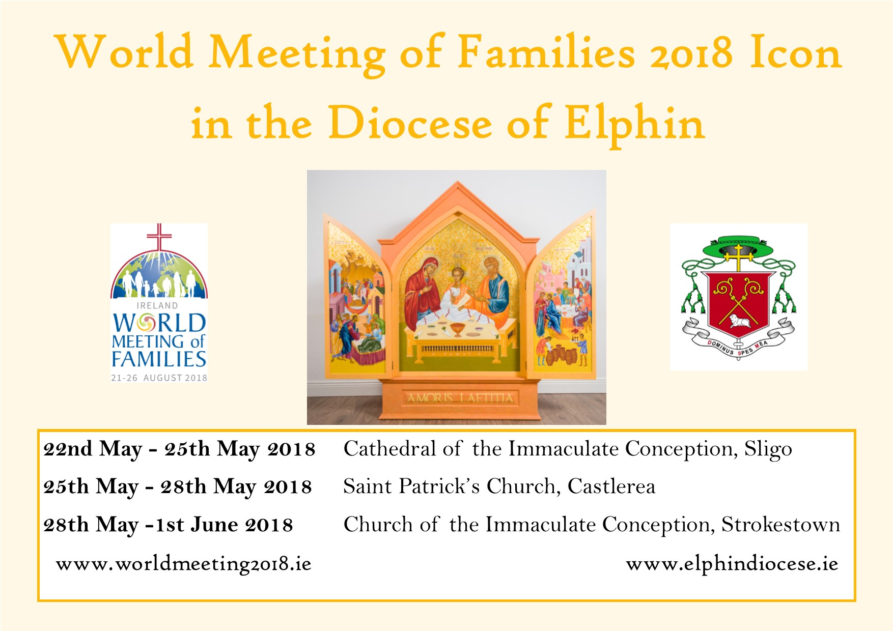 World Meeting of Families 2018 | Elphin Diocesan Website
