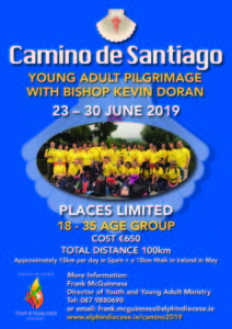 Camino de Santiago: Young Adult Pilgrimage with Bishop Kevin